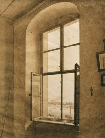 Caspar David Friedrich, View from the Artists Studio, 1805-06.