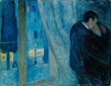 Edward Munch, The Kiss, 1892.