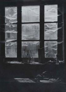 Erwin Blumenfeld, Window in Catus, France, 1941.