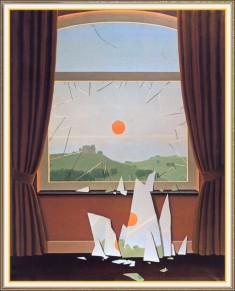 René Magritte, Evening, 1964.