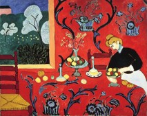 Henri Matisse, Harmony in Red, 1908.