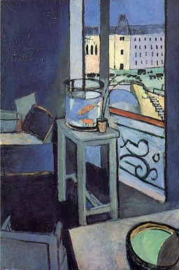 Henri Matisse, Interior with a Bowl with Red Fish, 1914.