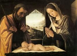 Lorenzo Costa, Holy Family Lorenzo Costa, 1490.