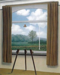 René Magritte, Human Condition, 1933.