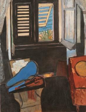 Henri Matisse, Interior with a Violin, 1918.