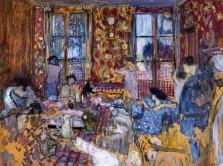Jean Édouard Vuillard, Breakfast at Villerville, 1910.