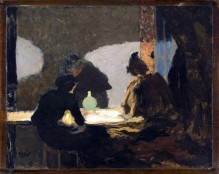 Jean Édouard Vuillard, Green Lamp, 1893.