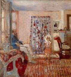 Jean Édouard Vuillard, The Painter Ker Xavier Roussel and His Daughter.