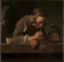 Jean SiméonJean Simeon Chardin, Soap Bubbles, 1733-1734. Chardin, Soap Bubbles, 1733–1734.