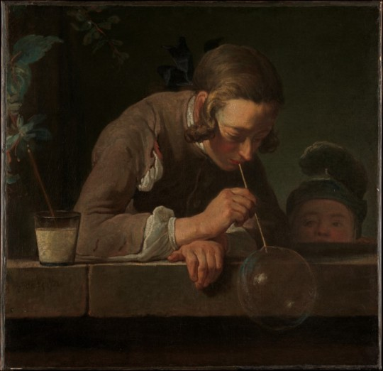 Jean Siméon Chardin, Soap Bubbles, 1733–1734.