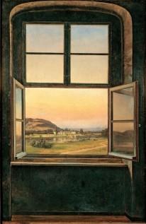 Johan Christian Dahl, View of Pillnitz Castle, 1823.