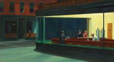 Edward Hopper, Nighthawks by Edward Hopper, 1942.