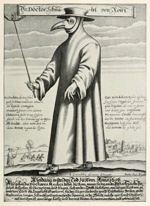 Paulus Furst of Nuremberg, Doctor Schnabel von Rom, 1656, British Museum, London.