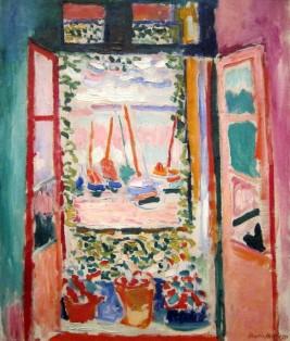 Henri Matisse, Open Window, 1905.
