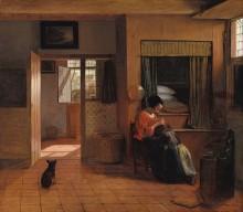 Pieter de Hooch, Parent Responsibilities, 1660.