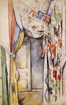 Paul Cézanne, Curtains, 1885.
