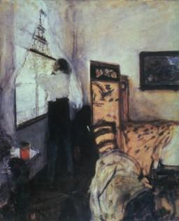 Valentin Aleksandrovich Serov, Petr I in Mon Plaisir, 1900th.