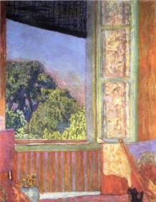 Pierre Bonnard, The Open Window, 1921.