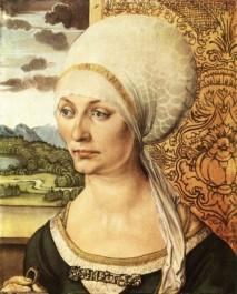 Albrecht Dürer, Portrait of Elsbeth Tucher, 1499.