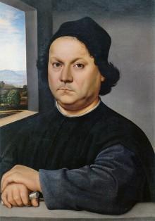 Raphael Sanzio, Portrait of Perugino, 1504.