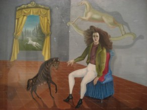 Leonora Carrington, Self-portrait, 1938.