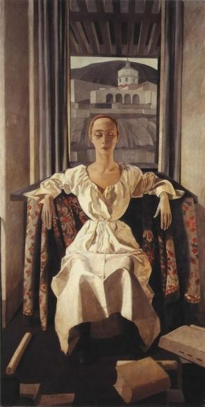 Felice Casorati, Silvana Chenni, 1922.