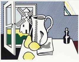 Roy Lichtenstein, Still Life with Windmill, 1972.