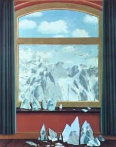 René Magritte, The Domain of Arnheim, 1949.