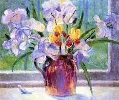 Bernhard Gutmann, The Flowers on the Window.