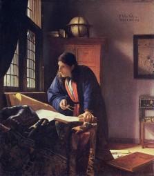 Johannes Vermeer, The Geographer, 1668-1669.