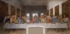 Leonardo Da Vinci, The Last Supper, 1495 - 1498.