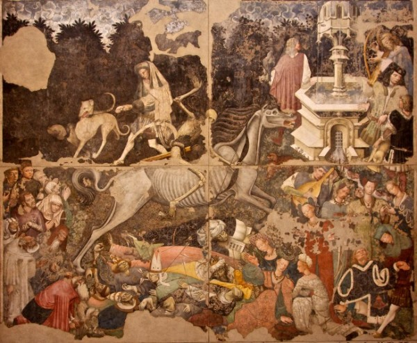 Triumph of Death Wall Painting, ca. 1448, Palazzo Abatellis.
