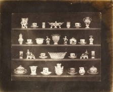 William Henry, Fox Talbot Articles of Porcelain, 1844.
