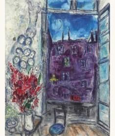 Marc Chagall, Window, 1959.