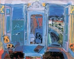 Raoul Dufy, Window Opening on Nice, 1928.