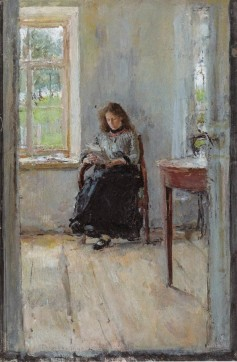 Valentin Aleksandrovich Serov, Window, 1886.