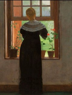 Winslow Homer, An Open Window, 1872.