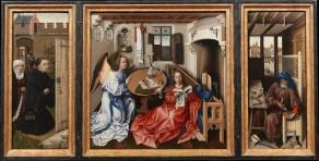 Workshop of Robert Campin, The Merode Altarpiece, 1425 - 1428.