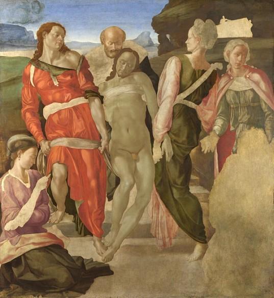 Michelangelo, The Entombment